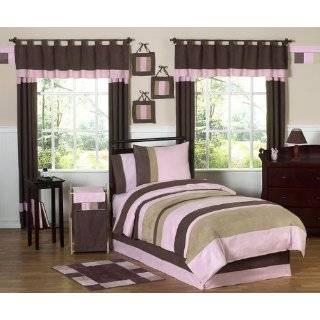 and Brown Queen Floral Girls Bed Skirt by JoJo Designs: Home & Kitchen