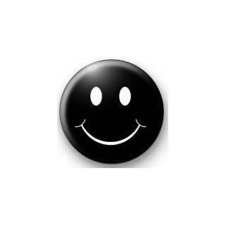 SKULL & CROSS BONES KISS LIPS (black & white) 1.25 Pinback Button