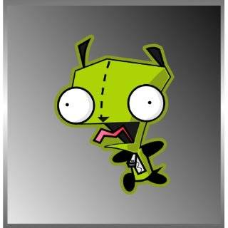 Invader Zim Animation Character Vinyl Decal Bumper Sticker 4x5