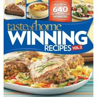 Taste of Home Winning Recipes 645 Recipes From National