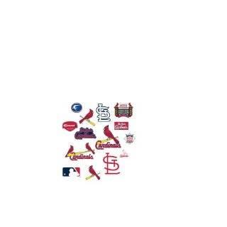 24 Stl Cardinals St. Louis baseball logo Wall Graphic