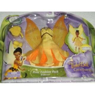 Tinkerbell Disney Fairy Pixie IRIDESSA Fashion Pack Outfit ~ Tinker