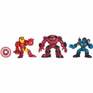 Iron Man Movie Toy Super Hero Squad Battle Pack Genius of