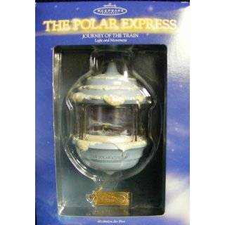Polar Express Ornament Journey of the Train Dated 2004