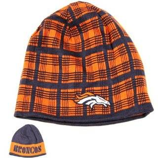 Denver Broncos NFL Large Logo Knit Beanie Hat