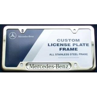 Mercedes Benz Silver Logo Chrome Tire Stem Valve Caps Automotive