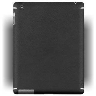SGP Premium Protective Skin Guard Deep Black Leather for iPad
