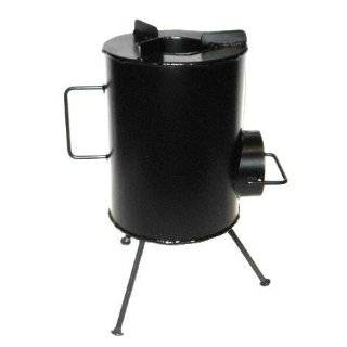 Portable Military Camping Tent Steel Wood Stove Heater