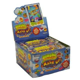 Topps Moshi Monsters Mash Up Trading Card Game Box Toys