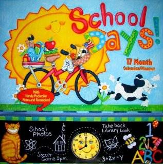 school days planner 2010 wall calendar planner calendar by kimberly