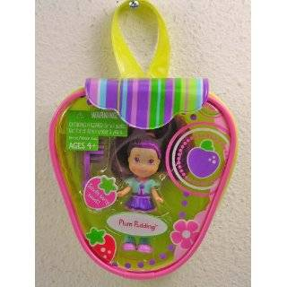 Strawberry Shortcake Hasbro Mini Doll in Purse Plum Pudding Version 2