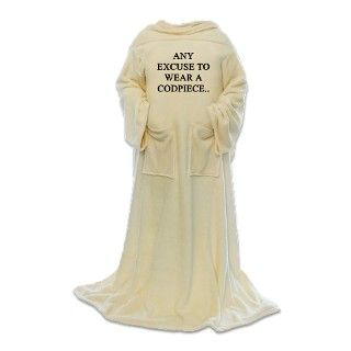 Attitude Gifts > Attitude Living Room > codpiece Blanket Wrap