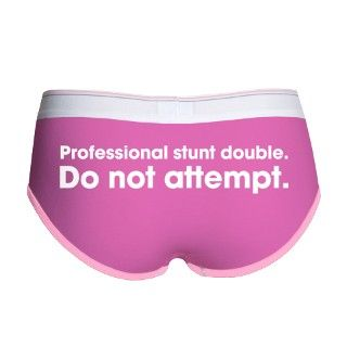 Professional Stunt Double Womens Boy Brief by prostuntdouble