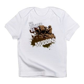 4x4 ATV Muddin Infant T Shirt by Admin_CP352230