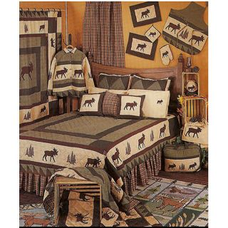 Moose Tracks Twin size Quilt
