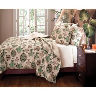San Juan Radiant Retreat Full/ Queen Quilt Set