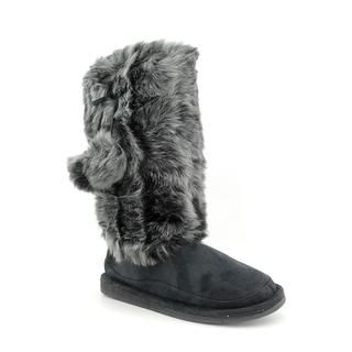 Dr. Scholls Womens Tatum Artifical Fur Boots