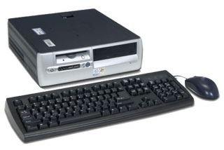 HP/Compaq 2.8GHz Pentium 4 Desktop Computer (Refurbished)