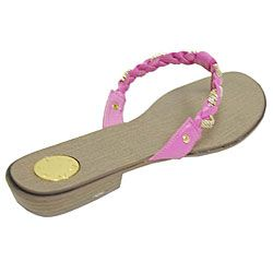 Liliana by Adi Womens Braided Sandals