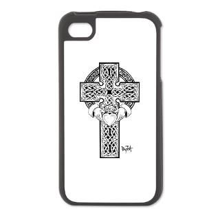 LuckyFish Art ifact Shop > Celtic Cross Designs > Claddagh Cross