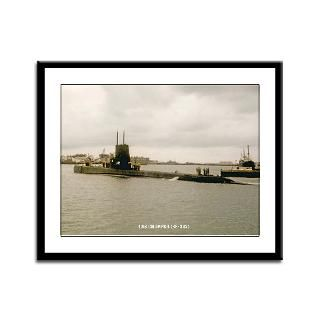 USS CHOPPER Framed Panel Print > THE USS CHOPPER (SS 342) STORE