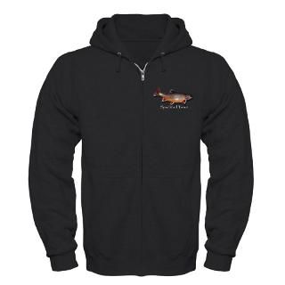 Zip Speckled Trout Hoodie (dark)