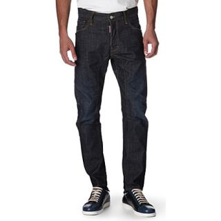 Biker denim jeans   D SQUARED   Tapered   Jeans   Shop Clothing