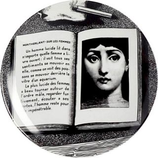 Wall plate   FORNASETTI   Home accessories   Shop Home   Home & Tech