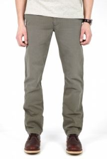 Dockers  Olive Herringbone Twill Tapered Chinos by Dockers
