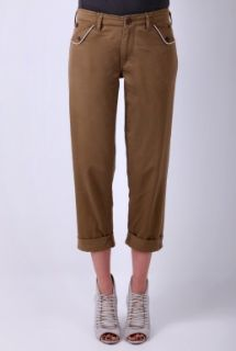 Sand Flap Pocket Chino by YMC   Neutral   Buy Trousers Online