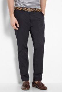 Marc by Marc Jacobs  Navy Light Cotton Cropped Slim Chinos by Marc By Marc Jacobs