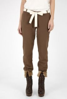 American Vintage  Chesnut Double Faced Rolled Chino by American Vintage