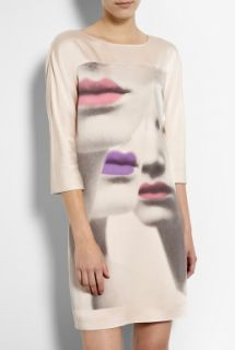 Moschino Cheap & Chic   Lip Print Tunic Dress by Moschino Cheap & Chic