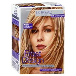 Loreal Frost and Design Pull Through Cap Hair Highlights   Champage