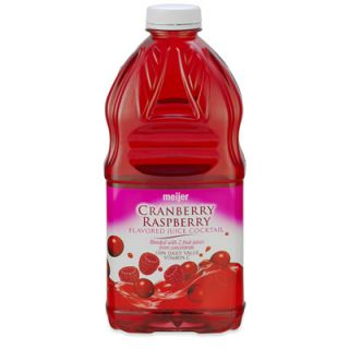 Cranberry Raspberry Juice Cocktail   1 Bottle (64 fl oz)