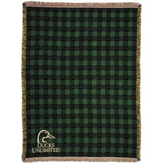 Ducks Unlimited My Masters Late Again Woven Throw
