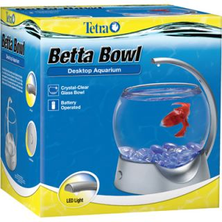 Tetra Betta Bowl Desktop Aquarium   .75 Gallons