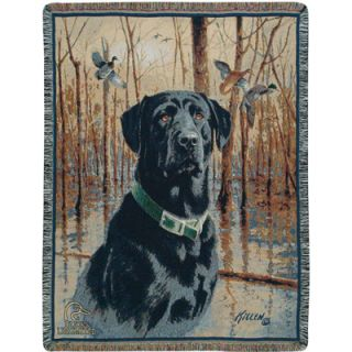 Ducks Unlimited Great Retriever Woven Throw