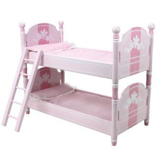 18 Inch Doll Bunk Bed, Doll Bedding & Ladder Doll