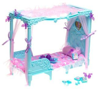 Canopy Dream Bed and Throne   Fit for a Princess!: Toys & Games