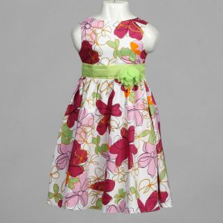 Dorissa Girls Isabelle Floral Dress