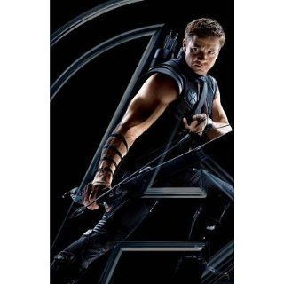 (11x17) Avengers Hawkeye Large Logo Movie Poster