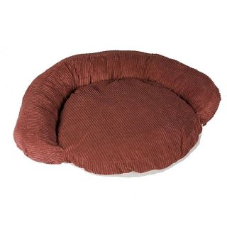 Carolina Plush Chenille 35 inch Bolster Pet Bed