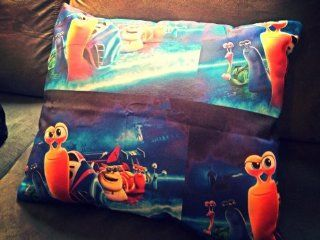 Turbo Movie Kids Bedding Pillow Toddler or Girls Bedding