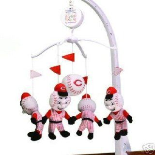 Cincinnati Reds Musical Baby Crib Mobile Plush: Explore similar items