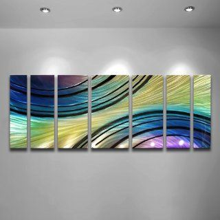 Shooting Star Modern Abstract Metal Wall Art Sculpture