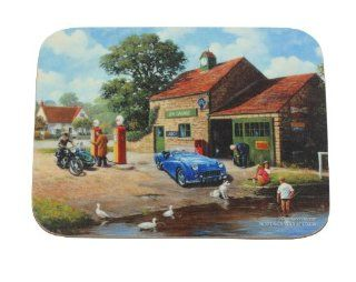 : Kevin Walsh The Village Pumps Traditional Coaster: Home & Kitchen