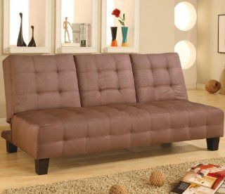 Armless Convertible Sofa Bed by Coaster: Home & Kitchen