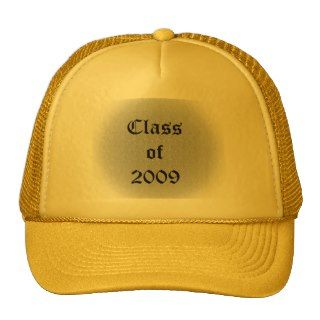 Class of 2009 Old English Hat