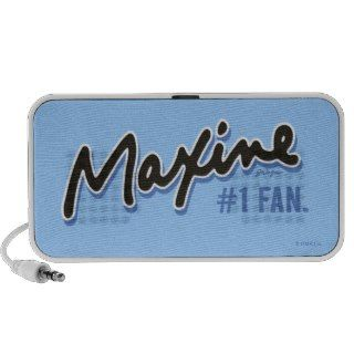 Maxine Number 1 Fan Laptop Speakers